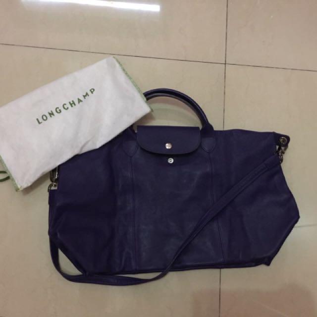 Longchamp Cuir Large