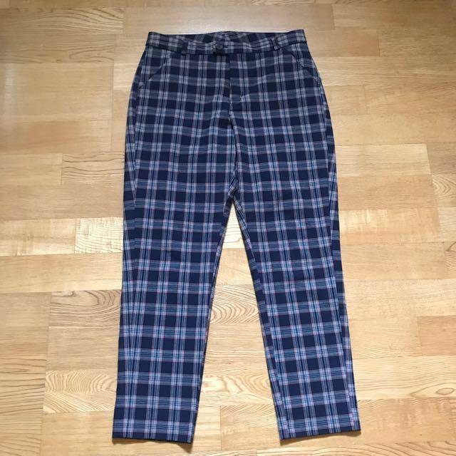 Lowrys Farm 格子 西裝 長褲