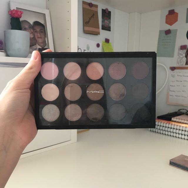 MAC Cool Neutrals Palette x15