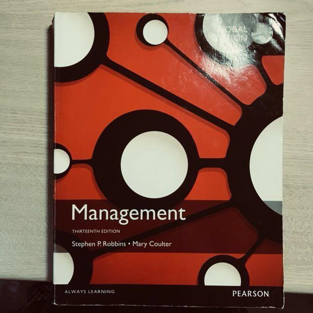 Management global edition 管理學