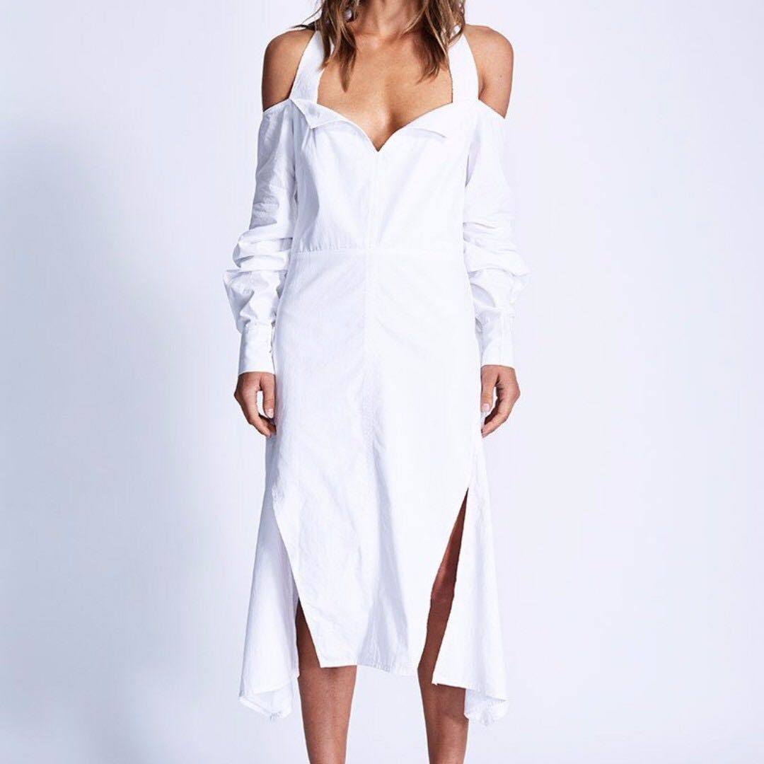 MAURIE & EVE Emmet Dress in White
