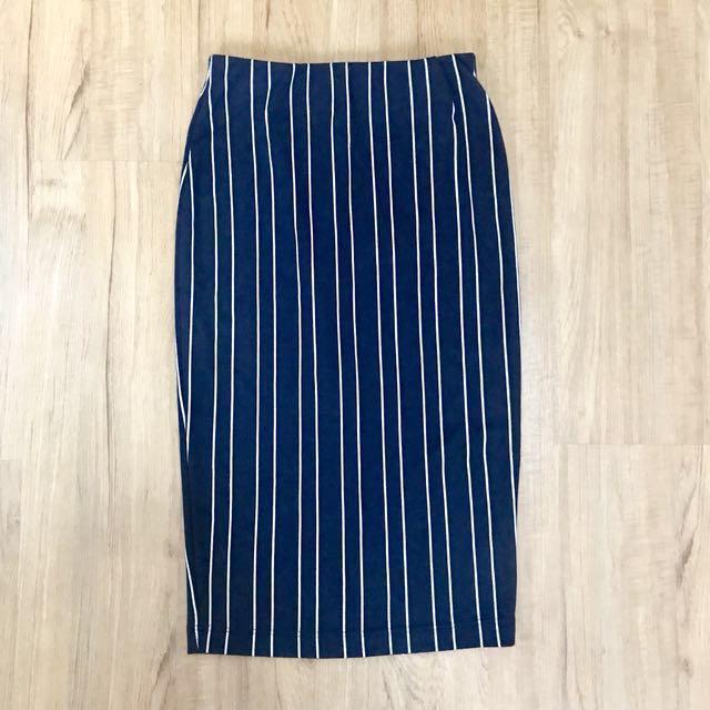 Miss Selfridge Pencil Cut Skirt