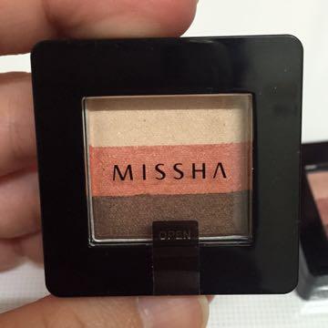 Missha 三色眼影 #9 #10
