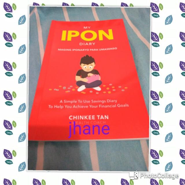 My Ipon Diary by Chinkee Tan