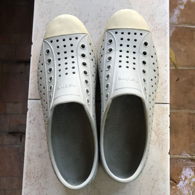 Native Gray Shoes - Mens 8 or Womens 10