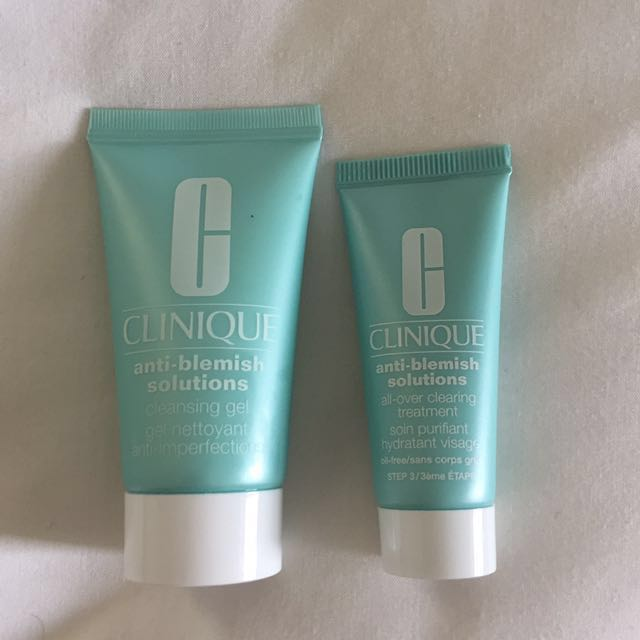 NEW Clinique Anti-Blemish Cleanser and Treatment
