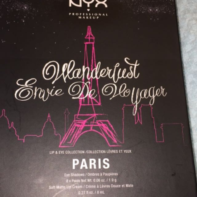 New NYX Wanderlust lip & eye collection