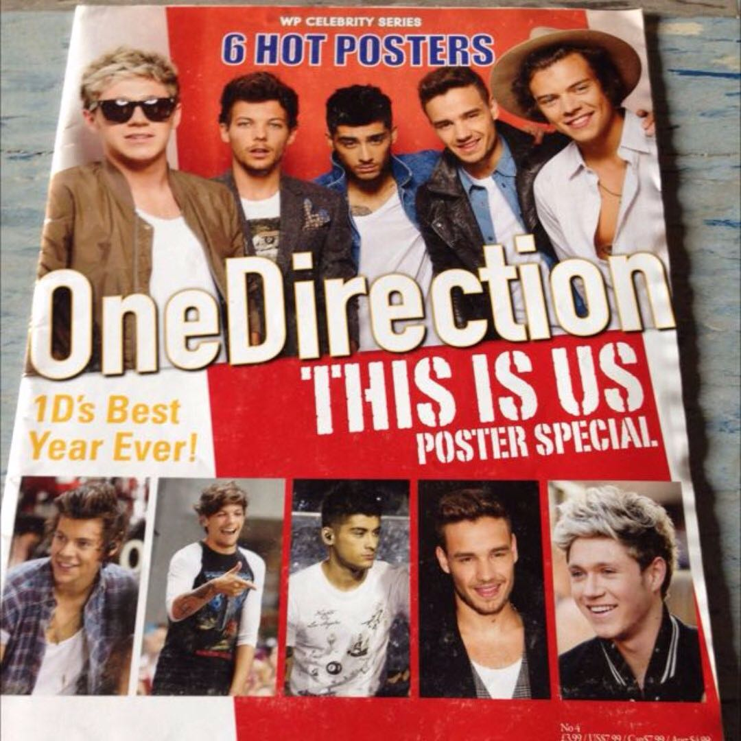 one direction poster book tribute books stationery magazines