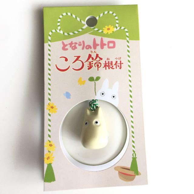 Original Totoro White Mobile Strap