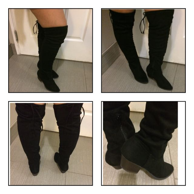 Over-the-knee-boots size 7.5