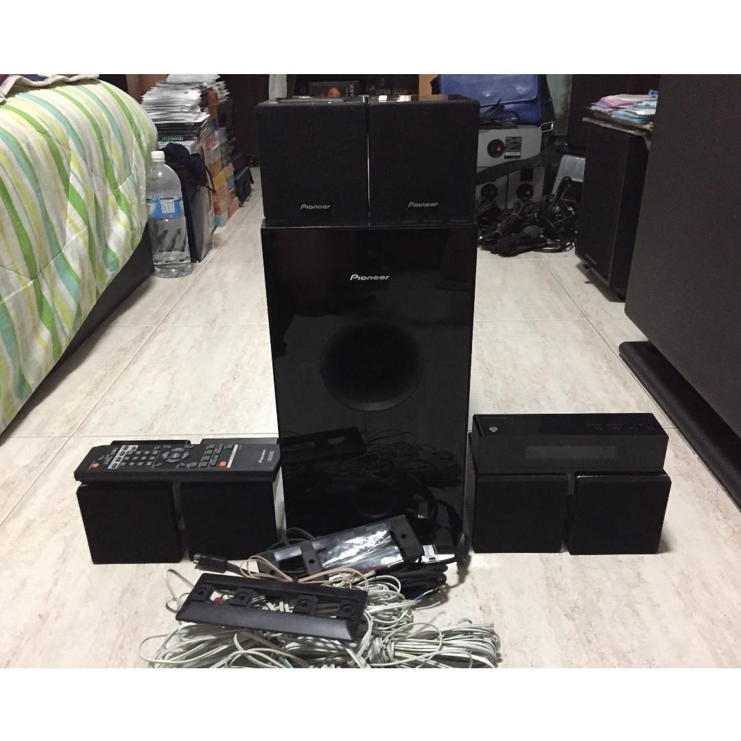 Pioneer Home Theater System Wiring Trusted Diagrams Subwoofer Speaker Diagram U2022