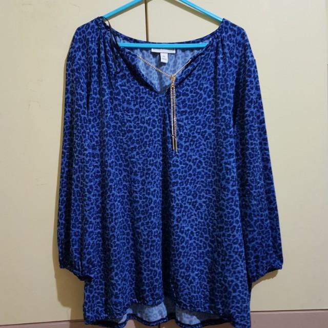 Plus size dana buchman blouse