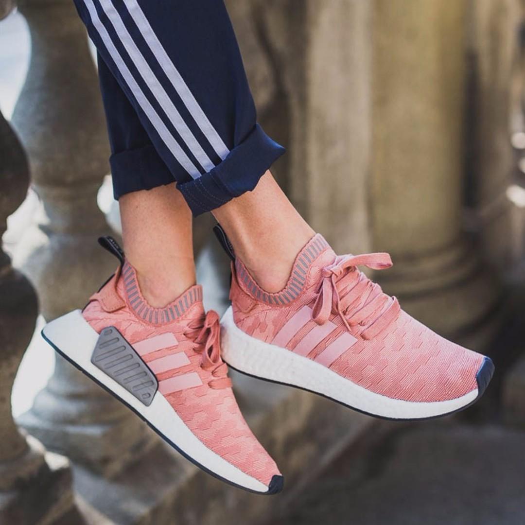 6e7eca8a7 PO) Adidas Women s NMD R2 PK Raw Pink