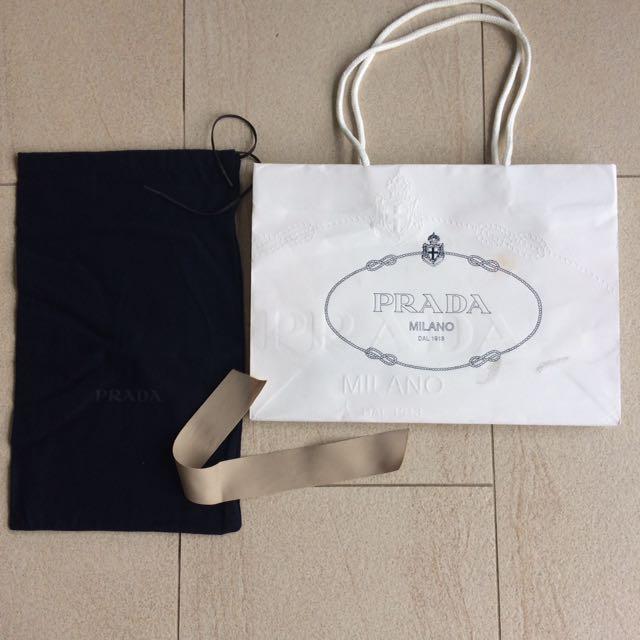 Prada Milano shoe bag