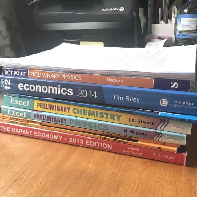 Preliminary HSC Textbooks