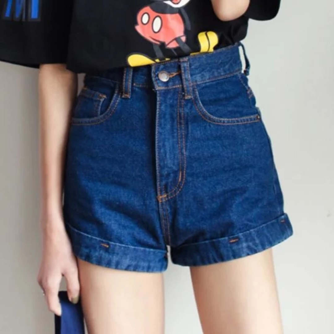 Waisted High shorts outfits tumblr fotos