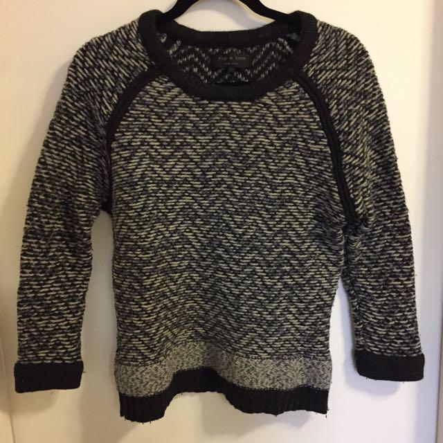 Rag and bone knit sweater