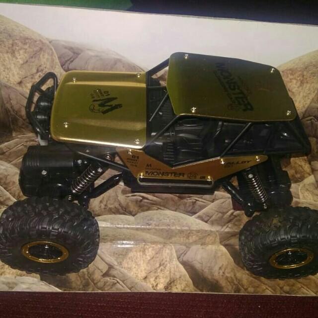 RC Rock Crawler skala 1:18 4x4WD