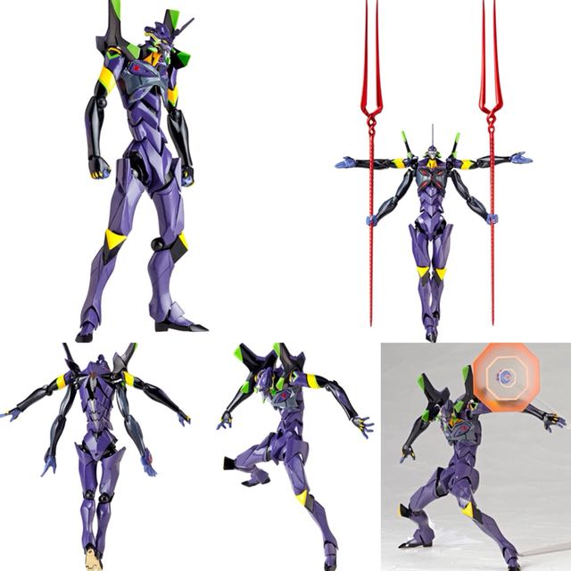 Revoltech Evangelion Evolution Ev 007 Eva 13 Evangelion 3 0 You Can Not Redo Toys Games Bricks Figurines On Carousell