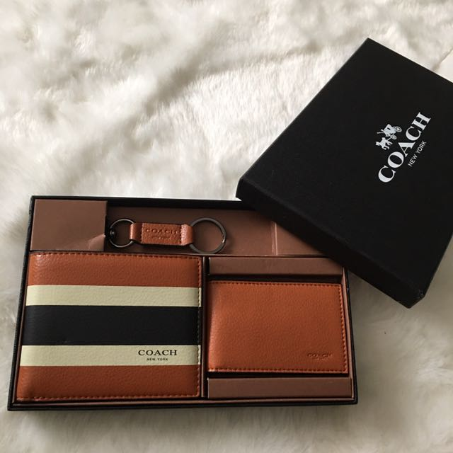 de4541816338 ... where can i buy sale coach mens wallet set luxury bags wallets on  carousell 8748d f7793