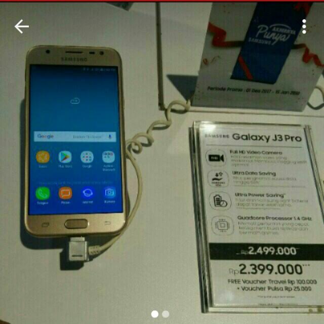 Samsung Galaxy J3 Pro Cicilan Murah Serba Serbi Di Carousell