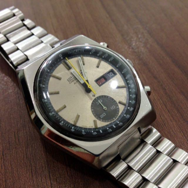 Seiko Vintage 6139-7080 Chronograph Automatic Watch
