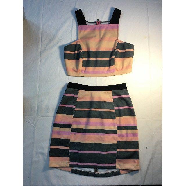 Shakuhachi top and skirt set rrp$160