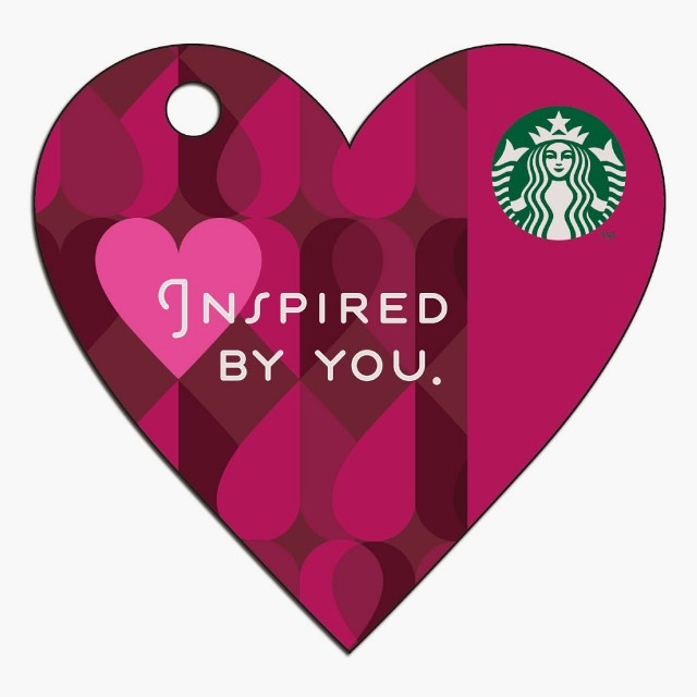 🆕Starbucks® 🇲🇾 2014 Inspired By You Card