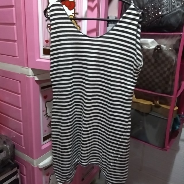 Stripe black n white