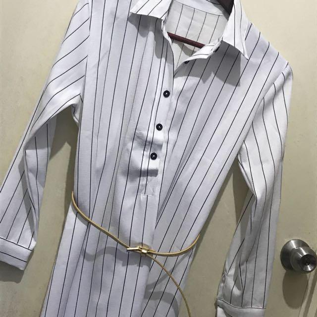 Stripe Long Top