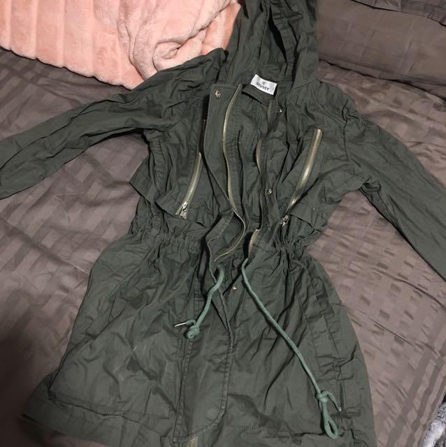STUSSY raincoat/ jacket