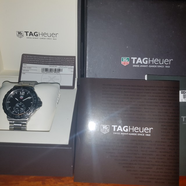 Tag heuer watch authentic