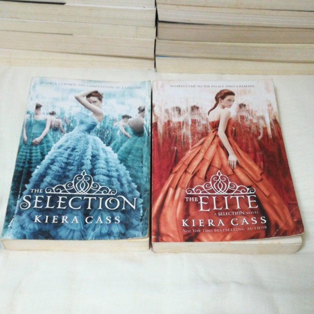 The Selection, Elite, One (The Selection Series), Books