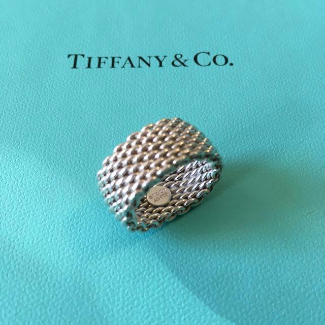 Tiffany Somerset Ring (size 5)
