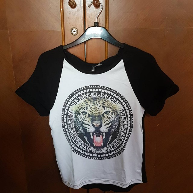 Tiger T-Shirt Kaos H&M