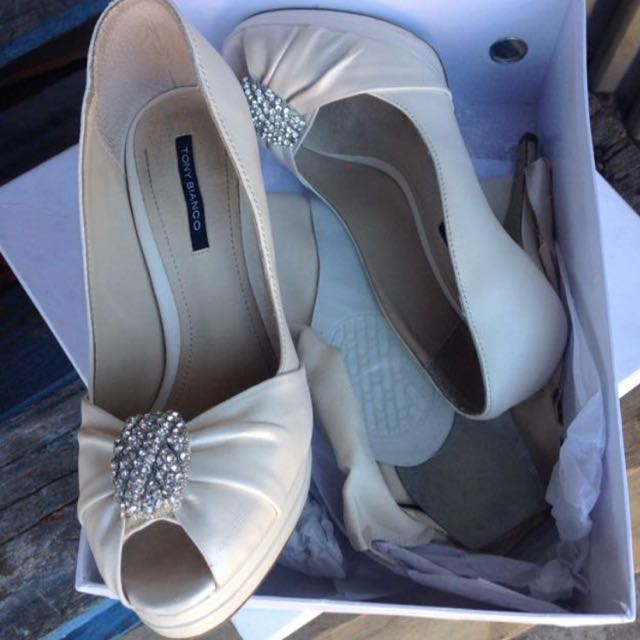 Tony bianco wedding shoes