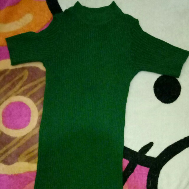 Top Knit Green