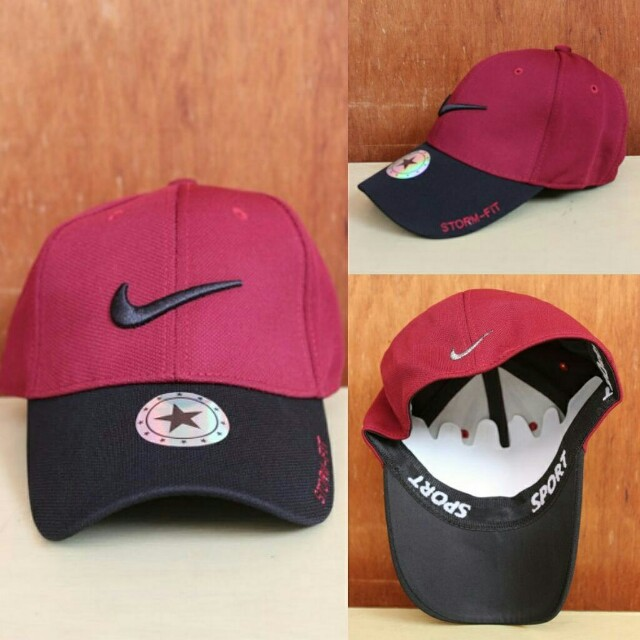 Topi Import Nike Red