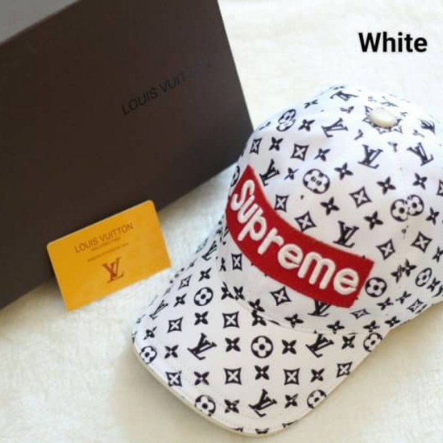 TOPi LOUIS VUITTON  SUPREME # 123456 #  With box