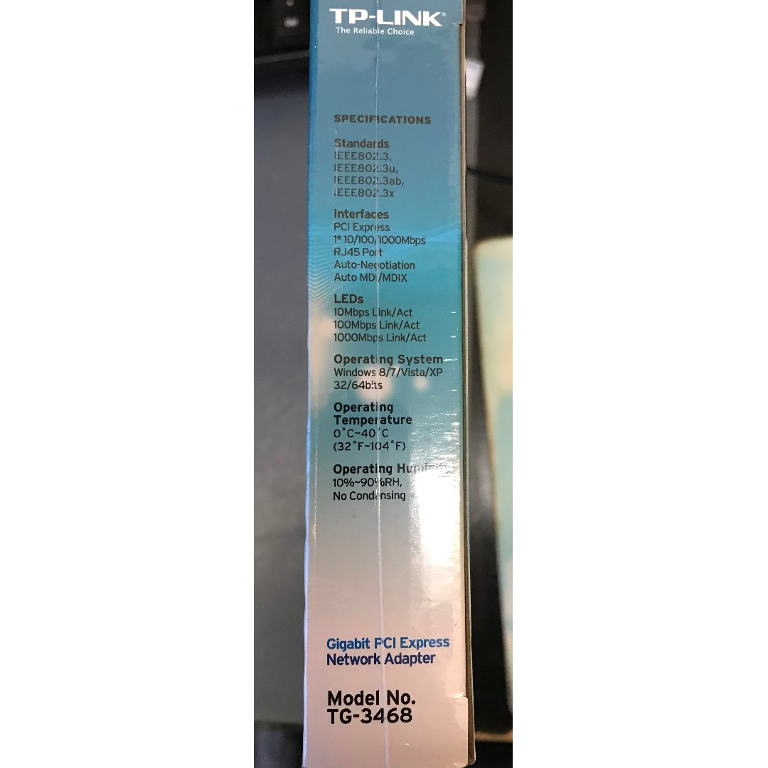 Tp Link Network Adapter Pci Express Tg3468 Electronics Tg 3468 Gigabit Computer Parts Accessories On Carousell