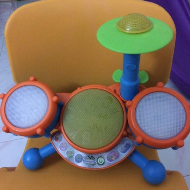ba45eb9f8 Vtech Kidi Beats Drum Set, Babies & Kids, Toys & Walkers on Carousell