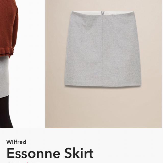 Waisted skirt