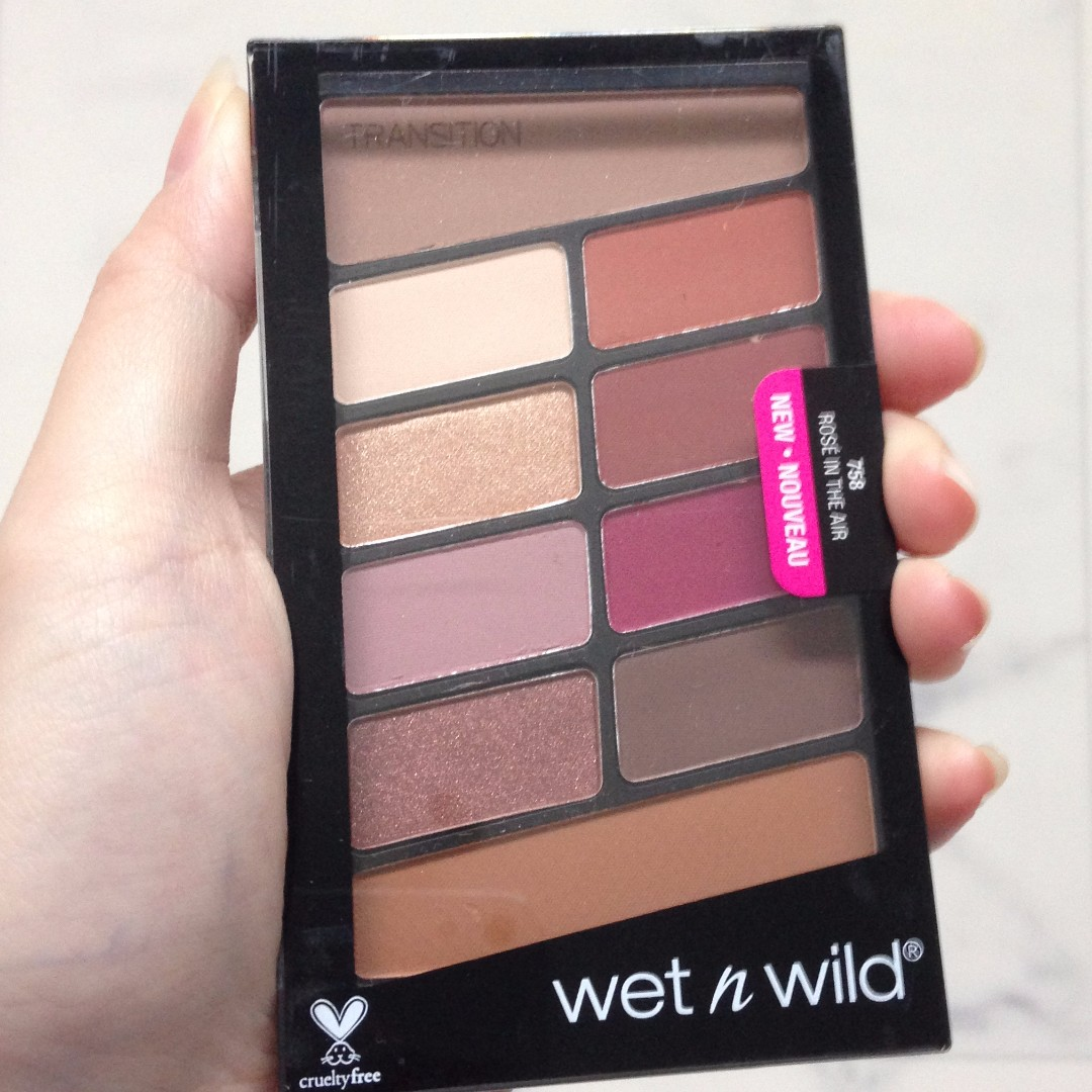 Wet n Wild Rose in the Air (Modern Renaissance dupe)