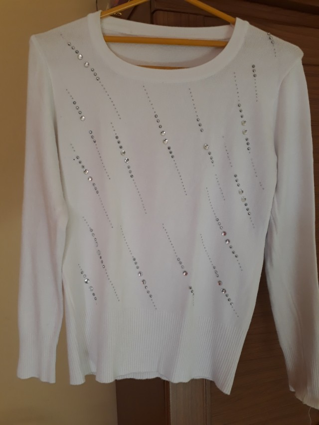 White knit
