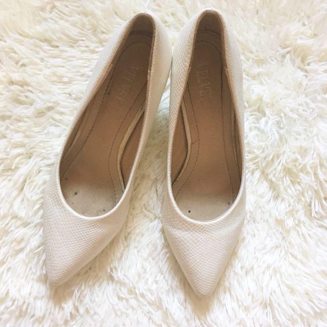 White Ladies Shoes