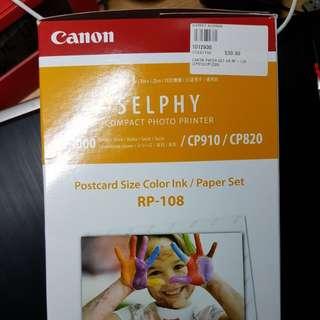 Canon selphy printer refill