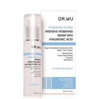 Dr Wu Hydrating System Intensive Hydrating Serum with Hyaluronic Acid - 35ml