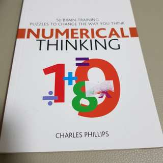 Book - numerical thinking