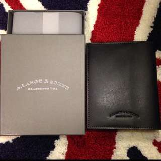 A Lange Leather Notebook / Passport Case