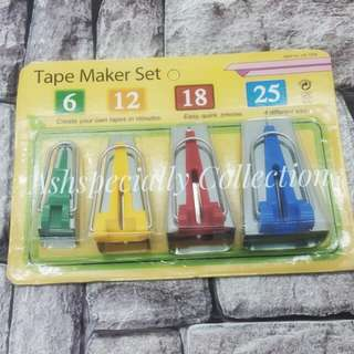 Bias Tape Maker Set
